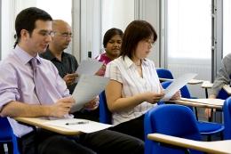 TOEFL Testcenter für MBA-Studium